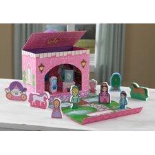 Fairytale Princess Travel Box Play Set
