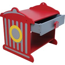 Firefighter 1 Drawer Nightstand