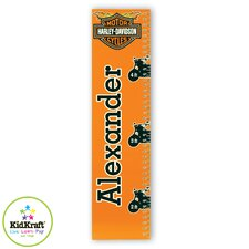 Personalized Harley Davidson Growth Chart