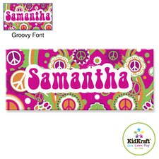 Personalized Groovy Canvas Art
