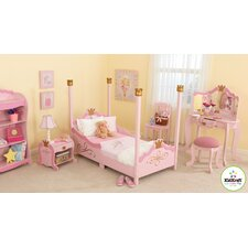Princess Toddler Four Poster Customizable Bedroom Set