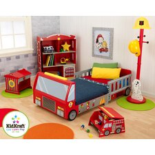 Firefighter Toddler Car Customizable Bedroom Set