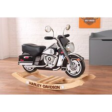 Harley-Davidson Roaring Police Rocker