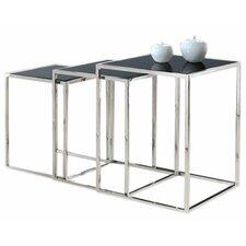 Quadra 3 Piece Nesting Tables