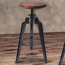 Tribeca Adjustable Height Swivel Bar Stool