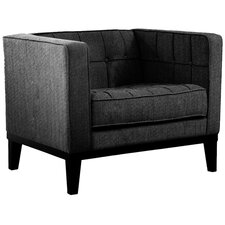 Urbanity Roxbury Tufted Arm Chair