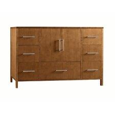 "Juno 48"" Bathroom Vanity Cabinet Base in Cinnamon"