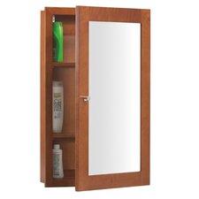 """Neo Classic Modular 29"""" H x  18"""" W Cinnamon Medicine Cabinet"""
