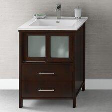 "Contempo Minerva 24"" Single Bathroom Vanity Set"