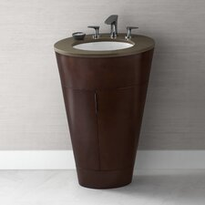 """Leonie 23"""" Single Oval Bathroom Vanity Set"""