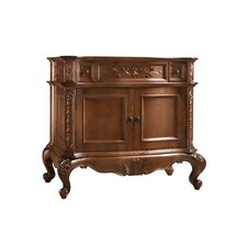 "Bordeaux 36"" Bathroom Vanity Cabinet Base in Colonial Cherry"