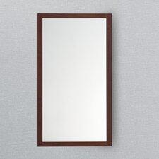 Solid Wood Framed Bathroom Mirror in American Walnut
