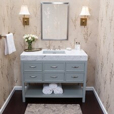 "Newcastle 48"" Single Bathroom Vanity Set"