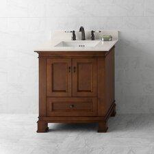 "Venice 30"" Bathroom Vanity Cabinet Base in Colonial Cherry"