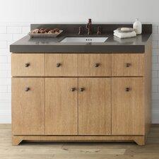 """Amberlyn 24"""" Bathroom Vanity Cabinet Base in Vintage Honey"""