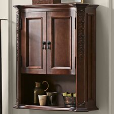 "Bordeaux 26.31"" x 32"" Wall Mounted Cabinet"