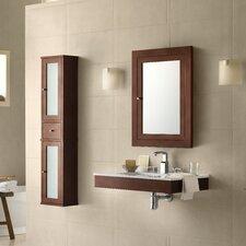 "Adina 31"" Single Wall Mount Bathroom Vanity Set with Mirror"