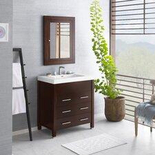 "Kali 31"" Single Bathroom Vanity Set with Mirror"