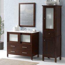 """Minerva 36"""" Single Bathroom Vanity Set"""