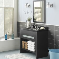 "Kendra 36"" Single Bathroom Vanity Set with Mirror"