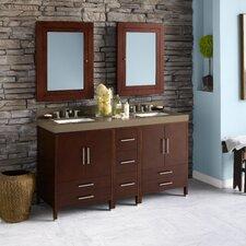 "Juno 60"" Double Bathroom Vanity Set"