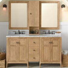 "Briella 60"" Double Bathroom Vanity Set"