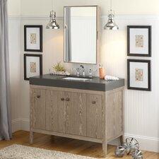 """Sophie 48"""" Single Bathroom Vanity Set with Mirror"""