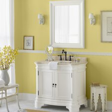 "Le Manns 36"" Single Bathroom Vanity Set with Mirror"
