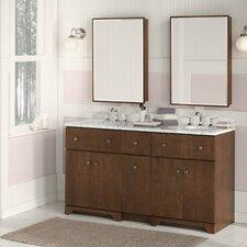"""Amberlyn 48"""" Double Bathroom Vanity Set"""