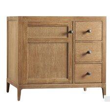 Neo-Classic Briella Wood Cabinet White Vanity Base