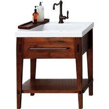 """Portland 30"""" Bathroom Vanity Cabinet Base in Rustic Pine"""