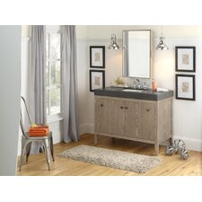 "Sophie 48"" Single Bathroom Vanity Set with Mirror"