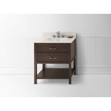 "Newcastle 30"" Single Bathroom Vanity Set"
