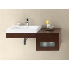 "Adina 41"" Single Wall Mount Bathroom Vanity Set"