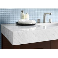 """WideAppeal™ 48"""" x 22"""" Marble Vanity Top- 4"""" Thick"""