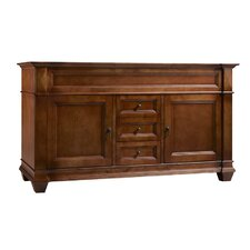 "Torino 60"" Bathroom Vanity Cabinet Base in Colonial Cherry"