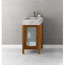 """Cami 18"""" Bathroom Vanity Base Cabinet in Cinnamon"""