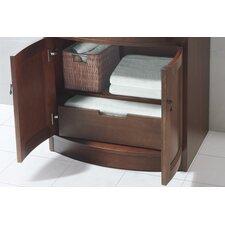 "Marcello 24"" Bathroom Vanity Cabinet Base in Colonial Cherry"