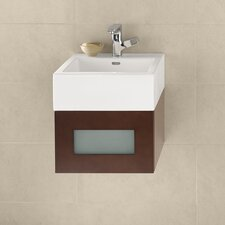 "Rebecca 18"" Single Wall Mount Bathroom Vanity Set"