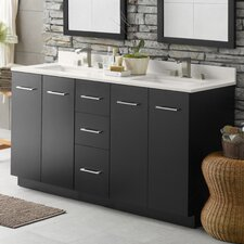 "Arden 61"" Double Bathroom Vanity Set"