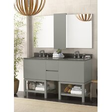 "Jenna 58"" Double Bathroom Vanity Set"