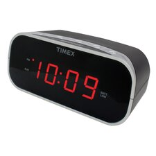 """Alarm Clock with 0.7"""" Red Display"""