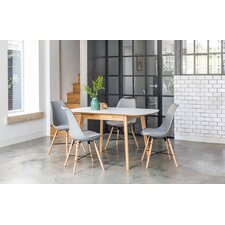 Dean Extendable Dining Table and 4 Chairs