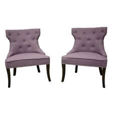 Mischa Orchid Stallion Side Chair (Set of 2)