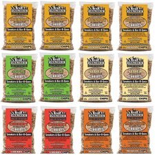 Assorted Flavored Wood Chips (12 Pack)