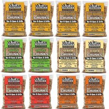 All Natural Flavored Wood Chunks (12 Pack)