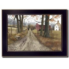 The Road Home by Billy Jacobs Framed Painting Print