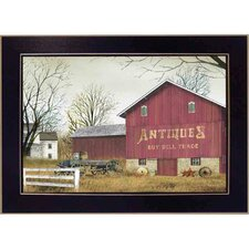 Antique Barn Deco by Billy Jacobs Framed Painting Print