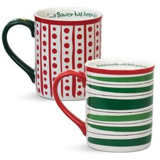 Believe and Rejoice Mug (Set of 2)