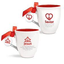 2 Piece Simply Christmas Mug Set